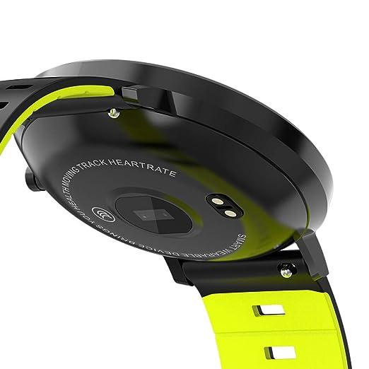 Cebbay Reloj Inteligente Color a Pantalla Completa Impermeable Monitor de Pulso cardiaco Reloj Deportivo Pulsera Reloj electronico: Amazon.es: Electrónica