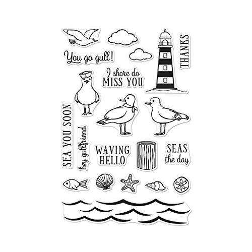 Seas The Day Seagulls by HA HERO ARTS MAKE IT PERSONAL