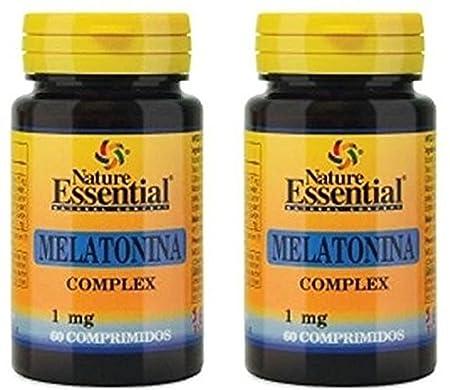 Melatonina 1 mg. complex 60 comprimidos con pasiflora, amapola ...