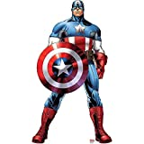 Captain America - Marvel's Avengers Assemble - Advanced Graphics Life Size Cardboard Standup