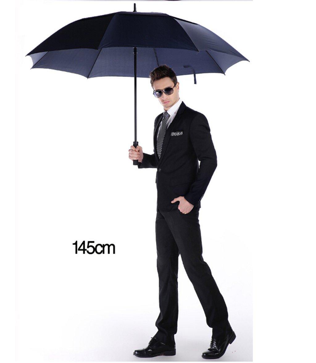 Modern Herren Business Regenschirm Doppel willkommen Windschirm Doppelschirm Triple /überdimensionalen Regenschirm Pfanne Outdoor-Dach