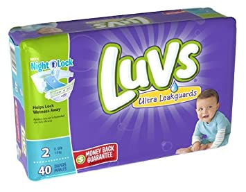 Amazon.com: Luvs Ultra Leakguards Diapers Size 2, 40 Count: Health ...