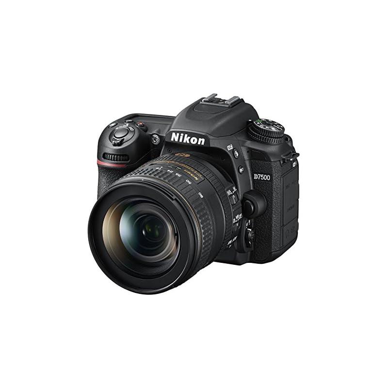 Nikon D7500 20.9MP DSLR Camera with AF-S