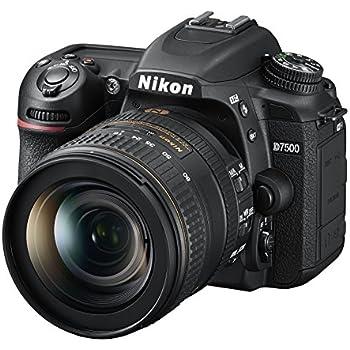 Nikon D7500 20.9MP DSLR Camera with AF-S DX NIKKOR 16-80mm f/2.8-4E ED VR Lens, Black