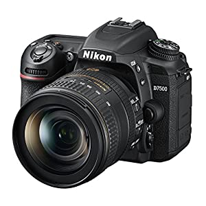 51oDmsHyqNL. SS300  - Nikon D7500 20.9MP DSLR Camera with AF-S DX NIKKOR 16-80mm f/2.8-4E ED VR Lens, Black