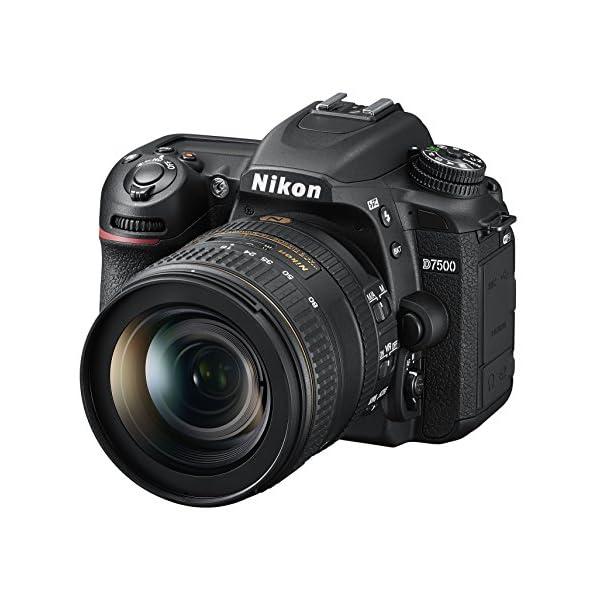 51oDmsHyqNL. SS600  - Nikon D7500 20.9MP DSLR Camera with AF-S DX NIKKOR 16-80mm f/2.8-4E ED VR Lens, Black