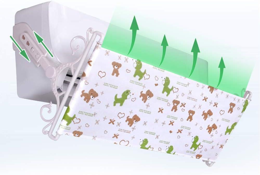 Deflettore del Condizionatore daria Vento Deflettore Anti Diretto Blowing a Scomparsa Condizionatore d Aria Shield Cold Condizionatore d Aria Deflettore Installazione Facile