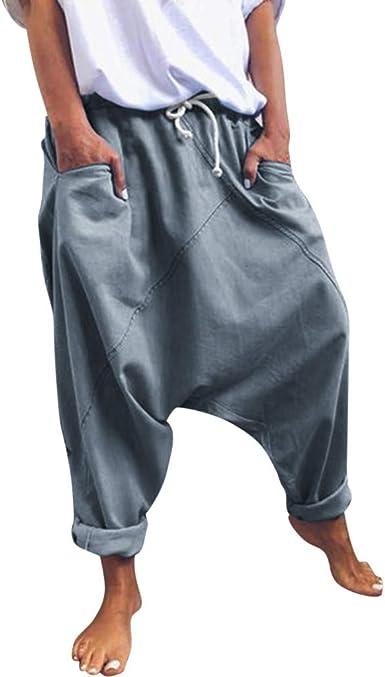 hippie pants baggy pants harem pants drop crotch pants casual pants baggy pants men loose bottom casual loose pants black loose pants