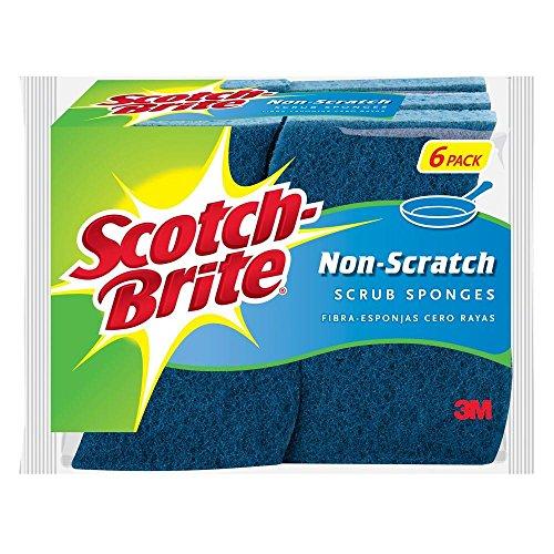 Scotch-Brite Non-scratch Scrub Sponge (6-pack) 4.4 In. X ...