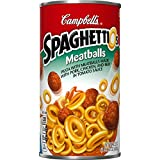 SpaghettiOs Pasta, Meatballs, 22.2 Ounce (Pack of 12)