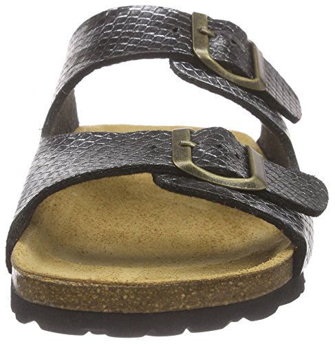 Gabor Home 100050bof - Sandalias Mujer Plateado - Silber (lame plata)