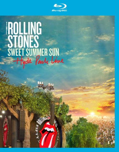 The Rolling Stones: Sweet Summer Sun - Hyde Park Live [Blu-ray] (Jovi Stone Rolling Bon)