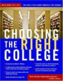 Choosing the Right College 2010-11, , 1935191608