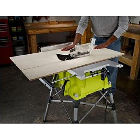 Portable Table Saw With Quick Stand (Certified Refurbished)     Amazon.com