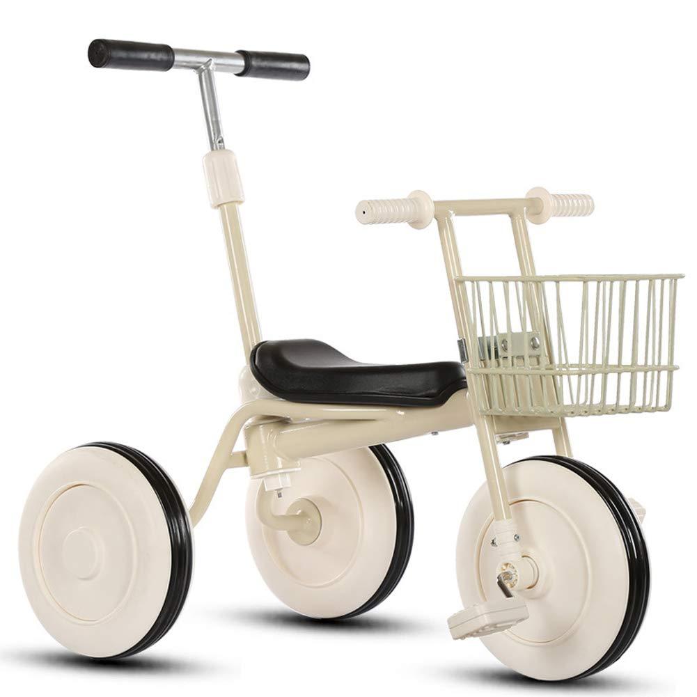 edición limitada blanco FYABB Niños Equilibrio Bicicleta, bebé bebé bebé Triciclo Montando Juguetes con Varilla de Empuje y Embrague para 2-5 años como Regalo de cumpleaños de los niños  clásico atemporal
