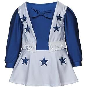 Dallas Cowboys Cheerleader Dress (4T)