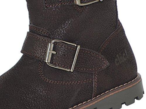 clic! CL-8395/2122 DE Biker Stiefeletten Boots für Mädchen Braun (Marron)