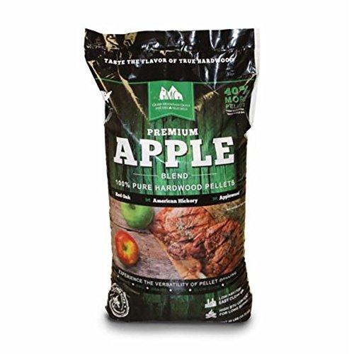 Apple Mountain (Green Mountain Grills Premium Apple Grilling Pellets)