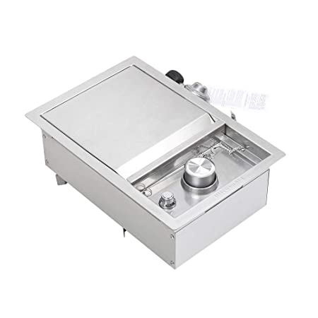 5 Heat Settings 1500W Easy Clean Large Capacity Multifunctional 2-in-1 Electric Smokeless Portable Indoor Barbecue Grill and Hot Pot ETE ETMATE Portable Electric Grill