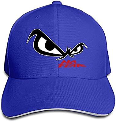 Hittings Unisex No Fear Owls Eyes Sandwich Baseball Cap Royalblue