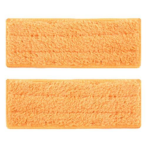 shuangjishan 2-Pack Damp Mopping Pads for iRobot Braava Jet 240 241 244, Washable & - Damp Mop Pad