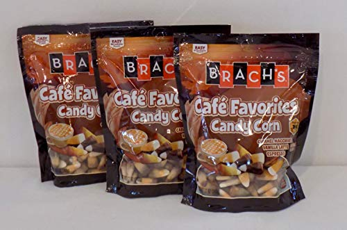 Cafe Favorites Candy Corn (Caramel Macchiato, Vanilla Latte, Espresso) 12 Oz - Bundle of 2