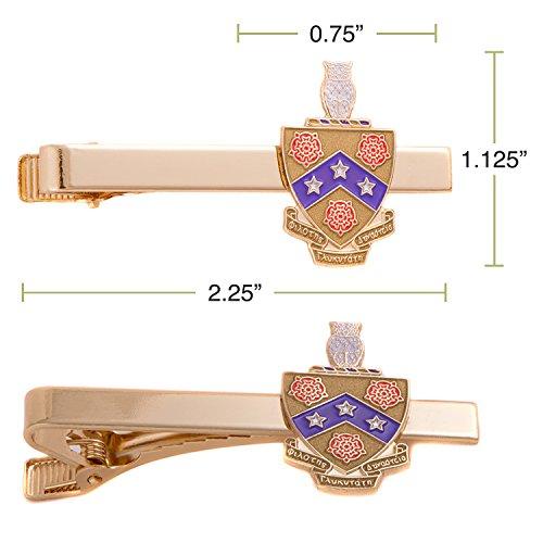 Desert Cactus Phi Gamma Delta Fiji Fraternity Crest Tie Bar Greek Formal Wear Blazer Jacke by Desert Cactus (Image #1)