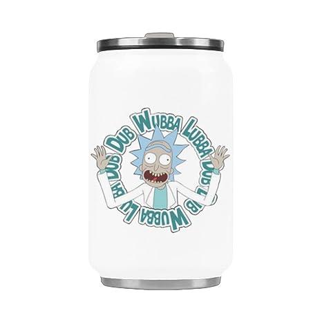 Amazon.com: Botella de agua Wubba lubba Dub Dub taza de ...