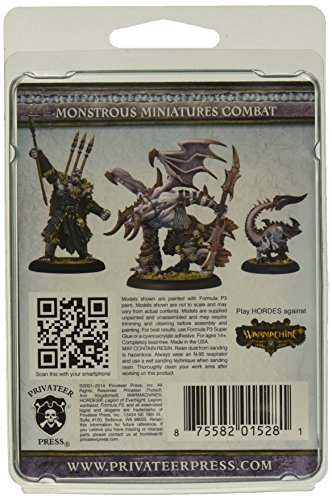 Privateer Press - Hordes - Legion: Thagrosh Prophet of Everblight Model Kit 4