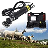 Ridgeyard 320W Electric Sheep Goat Irish Wolfhounds Clippers Shears Groomer Wool Shearing for Livestock Pet Animal Farm.