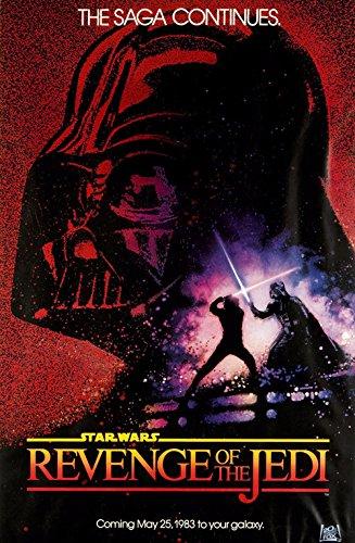 (Star Wars Movie Revenge Of The Jedi Canvas Poster)