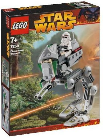 Star Wars Clone Scout Walker (LEGO (LEGO) Star Wars: The Clone Scout Walker 7250)