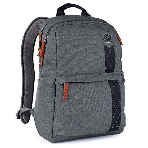 STM Banks Backpack For Laptop & Tablet Up To 15'' - Tornado Grey (stm-111-148P-20) by STM (Image #2)