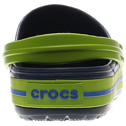Crocs Unisex Blu Navy / Zoccolo Verde Volt / Mulo