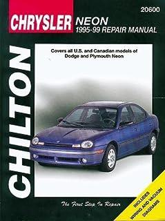 dodge plymouth neon 95 99 haynes repair manuals haynes rh amazon com 2004 Dodge Intrepid Dodge Intrepid Interior