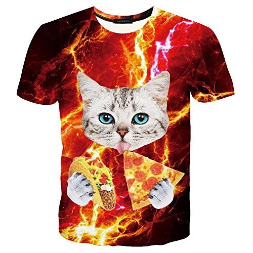 Hgvoetty Unisex Animal Shirts for Teens Funny Graphic Tees S