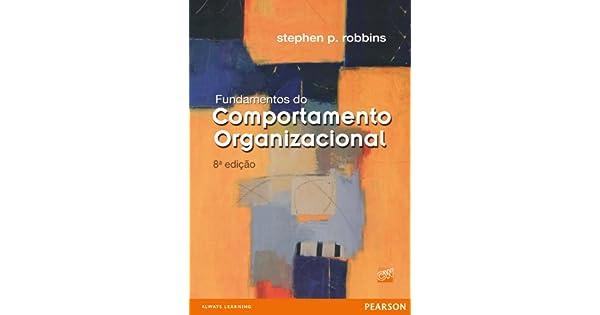 Robbins pdf comportamento organizacional stephen