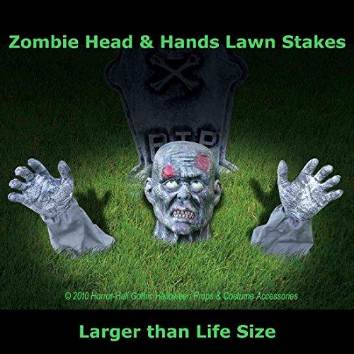 Life Size Body Parts ZOMBIE GROUND BREAKER Yard Halloween Horror Prop Decoration (Spring Breaker Halloween Costume)