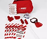 NMC BLOCK7 Lockout Pouch, Deluxe Electrical Kit