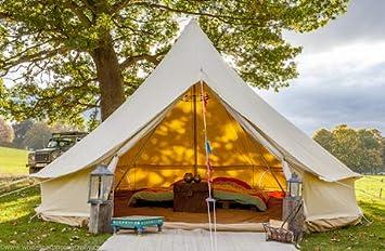 Bell Tent Boutique - Tienda de campaña (5 m, con Orificio para Estufa): Amazon.es: Jardín