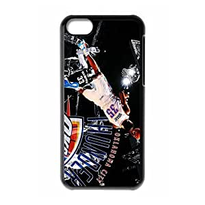 NBA Oklahoma City Thunder Super Star& Kevin Durant Case Cover for iPhone 5C- Personalized Cell Phone Protective Hard case Shell