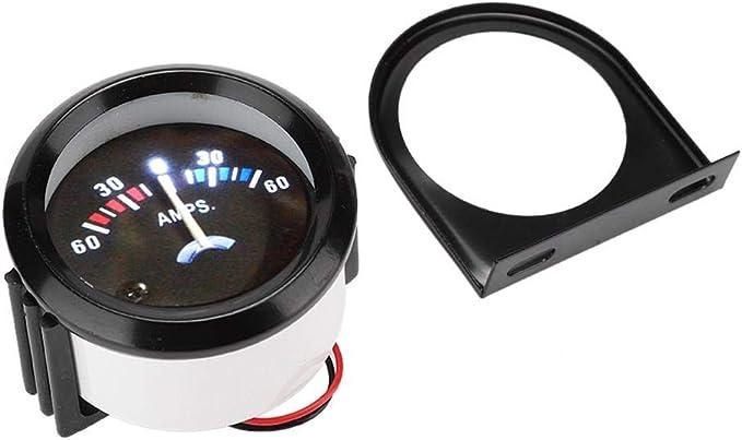 Amperemeter Voltmeter 12v 2 Zoll 52mm Auto 60 0 60a Amp Amperemeter Voltmeter Gauge Voltmeter Auto