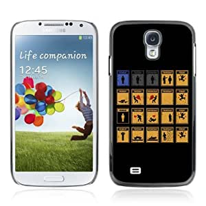 Designer Depo Hard Protection Case for Samsung Galaxy S4 / Working Week