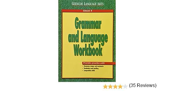 Amazon.com: Glencoe Language Arts Grammar And Language Workbook ...