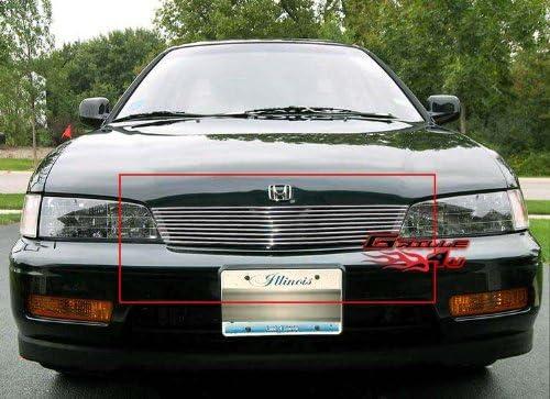 APS H77114T Chrome Grille Bolt Over for select Honda Ridgeline Models