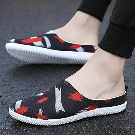 BAOZIV587 Zapatillas de verano para el aire libre, media ...
