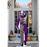 Aahs Engraving Halloween Haunted House Life Size Cardboard Stand Up (Slasher Clown with Knife)
