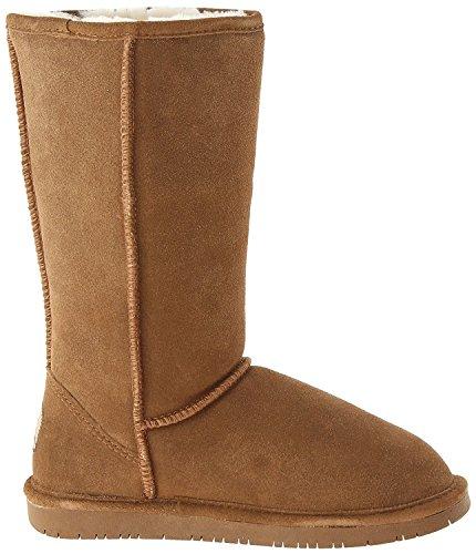 BEARPAW Womens Emma Tall Mid Calf Boot (11 B(M) US, Hickory)