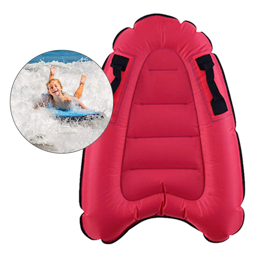 Kids Inflatable Bodyboard Handles Made From Wear-resistant Fabric Surfboard