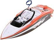 Barco de corrida RC, Funien Criar Brinquedos 3392 M Portátil Micro RC Barco de Corrida Controle Remoto Lancha